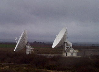 Antennen in Goonhilly